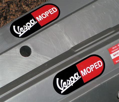 Vespa Boxer Aufkleber by Boxer Moped
