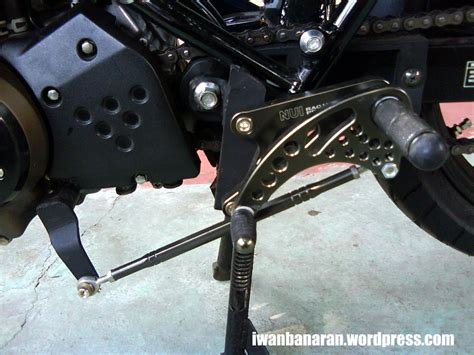Fotstep Motor getaran di kaki bisa karena footstep kendur motorjoss