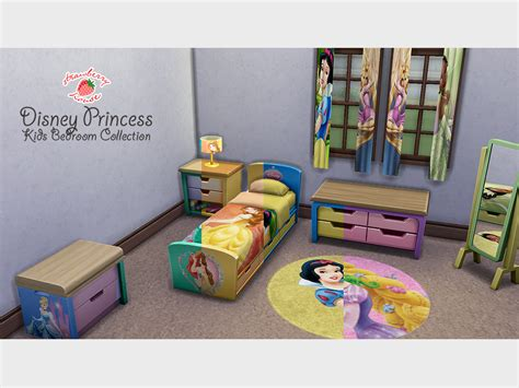 Complete Nursery Furniture Set Mod The Sims Disney Princess Bedroom Collection