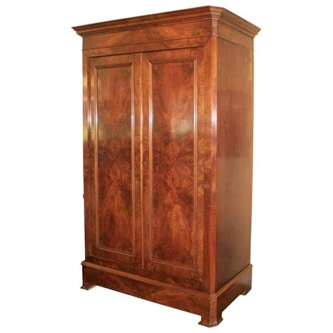 antique wardrobes and armoires louis philippe mahogany armoire at 1stdibs