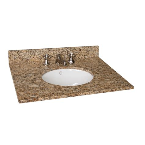 Vanity Top Bathroom Sinks 31 Quot X 22 Quot Granite Vanity Top With Undermount Sink Bathroom