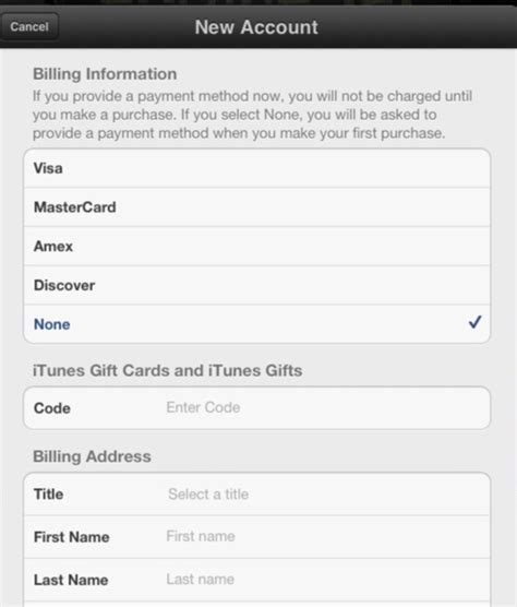 How To Set Up App Store Account Without A Credit Card