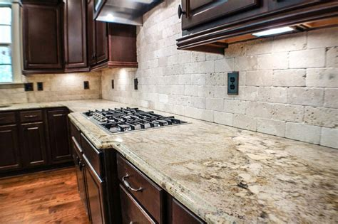 Backsplashes For Kitchens With Granite Countertops Kitchen Kitchen Backsplash Ideas Black Granite Countertops Powder Room Outdoor Traditional