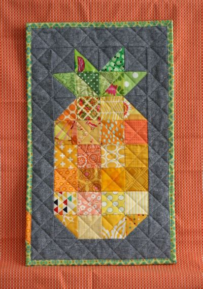 Pineapple Quilt Tutorial by Minipineapple2 Hopeful Homemaker
