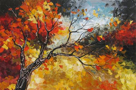 Home Decor Definition by Amazing Landscapes Autumn Paintings Art By Lena