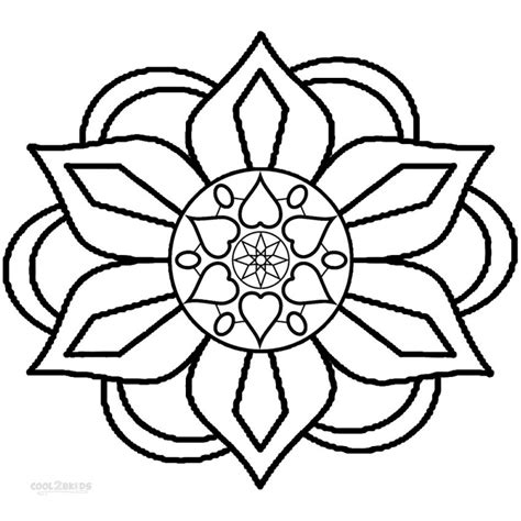 coloring pages of easy designs rangoli designs printable coloring pages aecost net