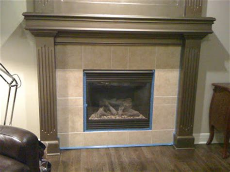 Tumbled Fireplace by Kcfauxdesign Fireplace Re Do With Faux Tumbled Tile