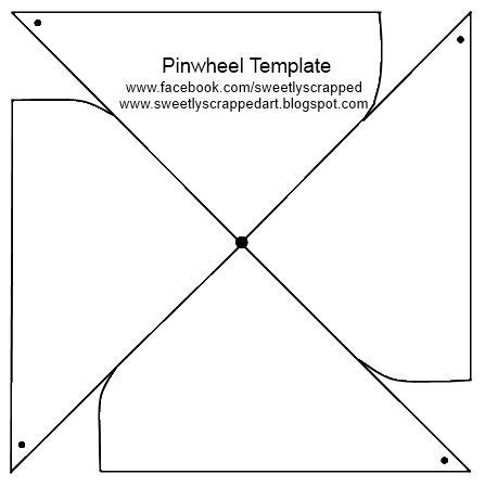turning wheel card template make your own pinwheels diy template origami