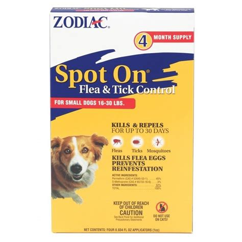 flea tick prevention dogs zodiac spot on flea tick for dogs products gregrobert