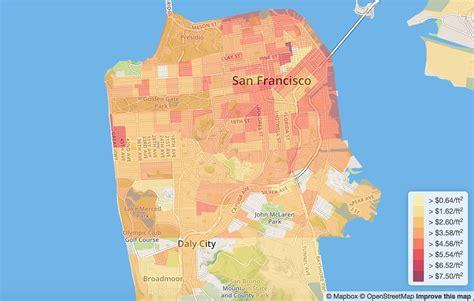 san francisco rent map 53 tips on moving to san francisco ca 2017 movebuddha