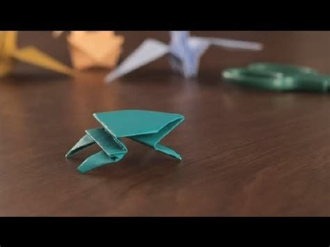 Rude Origami - how to make an origami frog simple origami