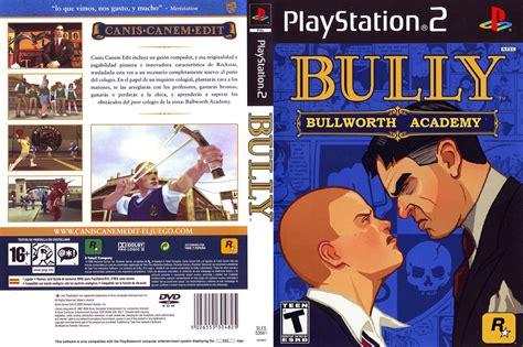 Bully Ps2 car 225 tula de bully para ps2 caratulas