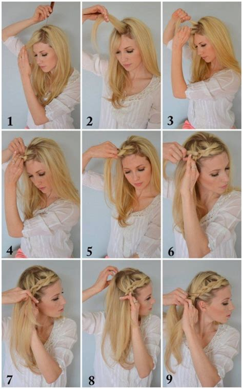 35 diy hairstyle tutorials with pictures fashion 17 easy diy tutorials for glamorous and cute hairstyle