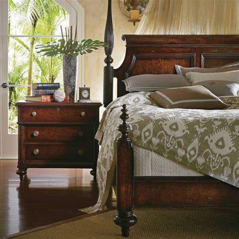 stanley furniture british colonial bedroom set sl0206342set