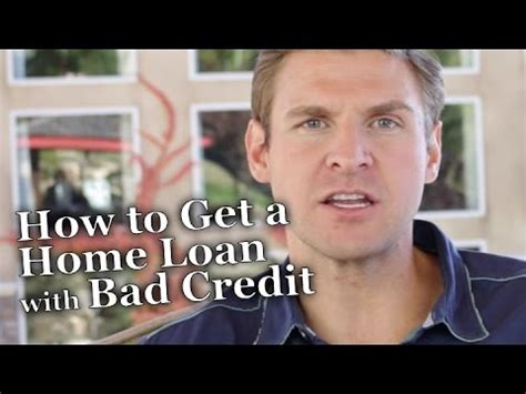 how to buy a home with money and bad