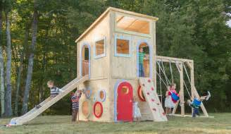 backyard playsets new cedarworks modern outdoor playsets 171 buymodernbaby