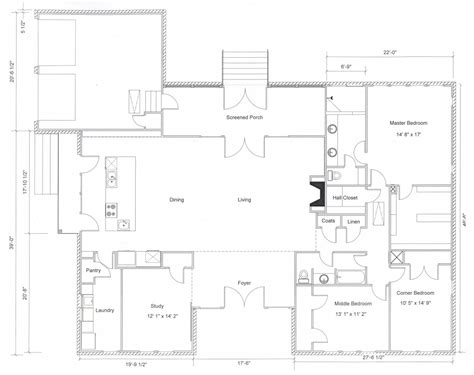 Modern Ranch Floor Plans by Ranch House Plans We