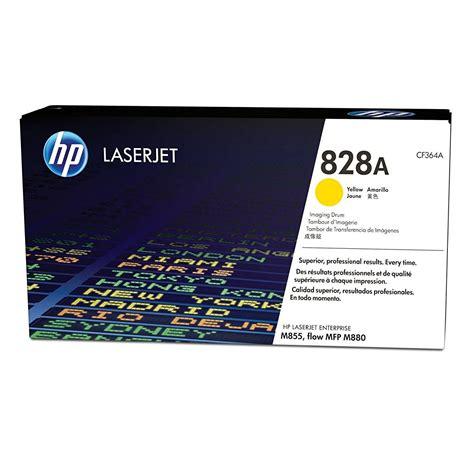 Toner Hp 828a Yellow Laserjet Image Drumcf364a premium remanufactured hp 827a cyan toner cartridge