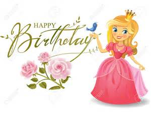 happy birthday princess clipart clipartsgram com