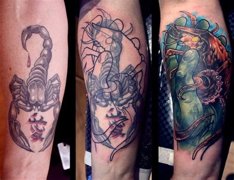 tattoo cover ups for men cover up before after coverup ideas