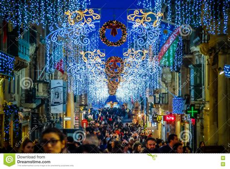 city decorations in malta valletta decoration on the