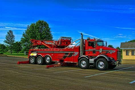 big kenworth trucks kenworth big rig tow truck by tim mccullough