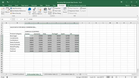 tutorial macros excel youtube how to record a macro in excel 2007 youtube excel macro