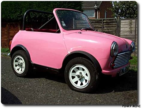 Car Crafts For Kids - mini pinky car