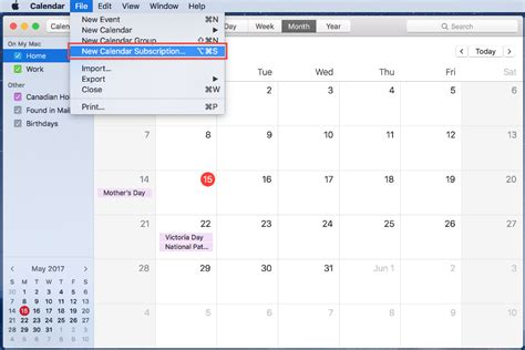 Calendar Apple Adding A Calendar Subscription With Apple Calendar