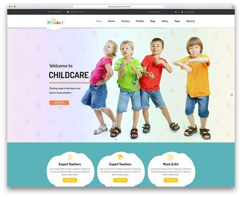 download free website templates for kindergarten top 15 colorful kindergarten wordpress themes 2018 colorlib