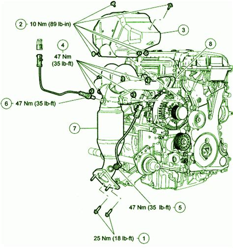 2003 ford escape engine diagram 2007 ford escape v 6 engine fuse box diagram circuit