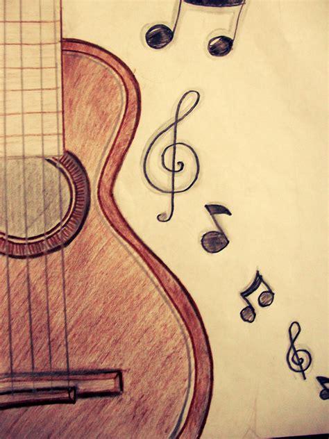 imagenes a lapiz musica drawings