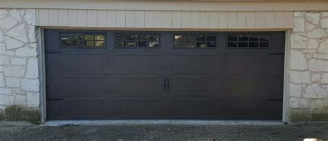 Brown Garage Door by Brown Carriage Door Yelp
