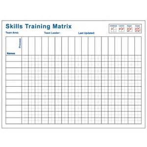 skills matrix 36x48 visual workplace inc