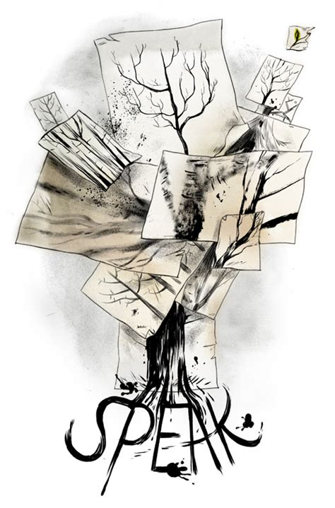 themes in the story speak emily carroll art comics