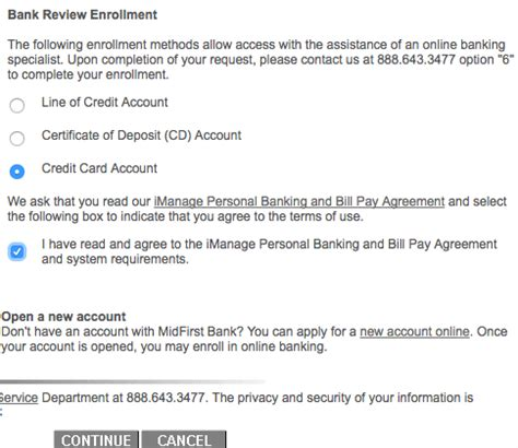midfirst bank rewards credit card login make a payment