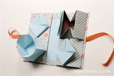 Book Origami Tutorial - free coloring pages origami thread book