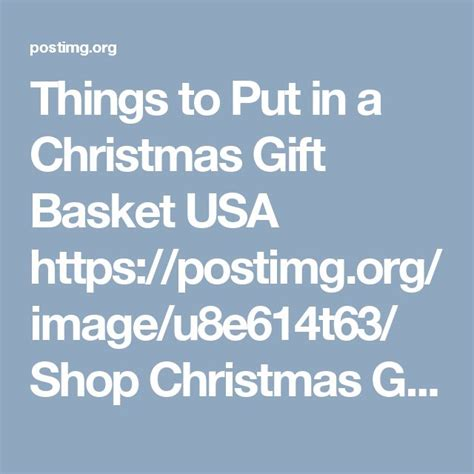 43 best christmas gift baskets images on pinterest