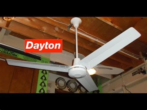 dayton industrial ceiling fan