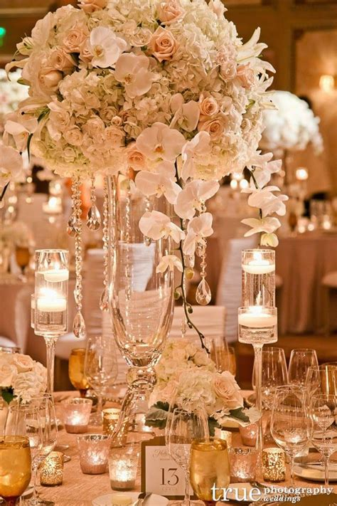 glamorous wedding centerpieces kavita mohan