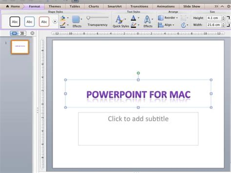 tutorial powerpoint for mac 2011 wordart styles quick styles in powerpoint 2011 for mac