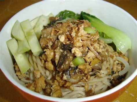 mie ayam jamur mushroom chicken noodle indonesian food tasty indonesian food mie ayam jamur