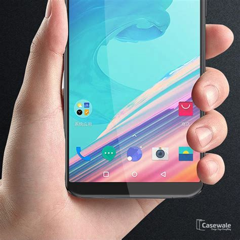 Tempered Glass Temper Glass Temperglass Oppo F3 5d curved glass screen protector for oneplus 5t casewale
