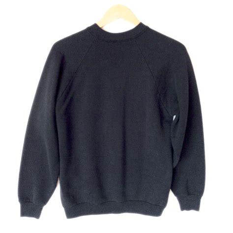 Sale 7365 Sweater Blue Unicorn vintage 80s unicorn paint sweatshirt the