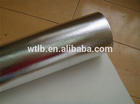 Foil 4mm Aluminium fireproof document wallet bag material aluminum foil 430g fiberglass 0 4mm