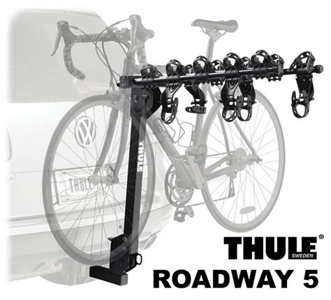 Thule 5 Bike Hitch Rack by Thule 915xt Roadway Hitch Mount 5 Bike Racks