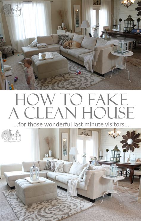 how to clean a home how to fake a clean house in 20 minutes over 25 tips
