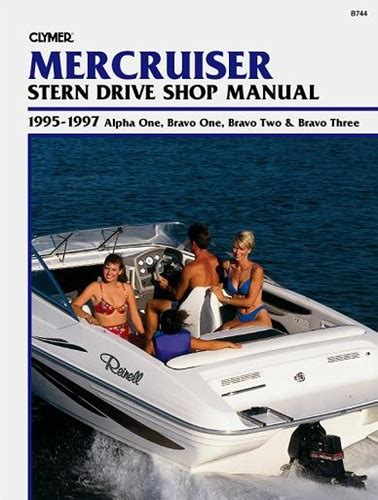 Mercruiser Manual Service Shop And Repair Manuals 1995 1997