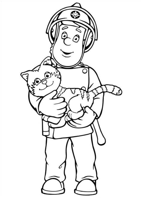 Fireman Sam Coloring Page n 38 coloring pages of fireman sam
