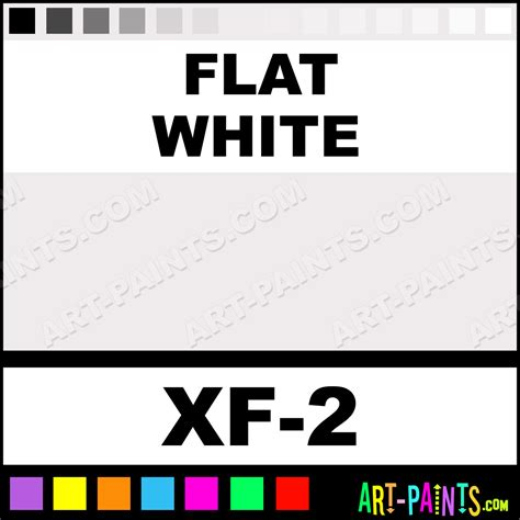 Flat White Color | flat white color acrylic paints xf 2 flat white paint